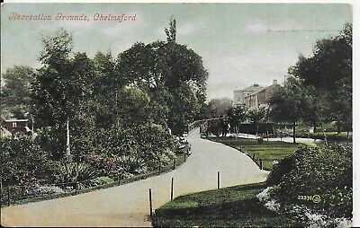 £3.99 • Buy Early Genuine Vintage Postcard,the Recreation Grounds,chelmsford,essex,1906