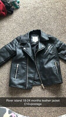 £5 • Buy River Island MIni Club 18-24 Months Faux Leather Jacket Good Condition
