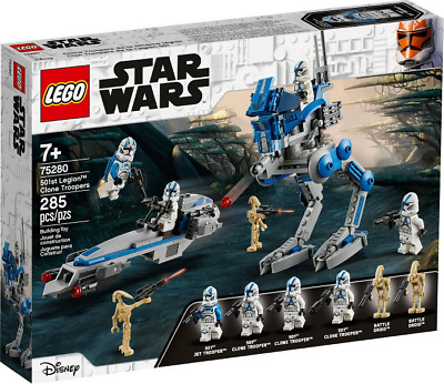 AU60 • Buy Lego Star Wars: 501st Legion Clone Troopers Set (75280) NEW AND SEALED