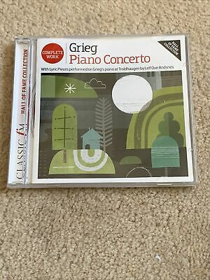 £0.99 • Buy Complete Work Grieg Piano Concerto CD-Classic Fm