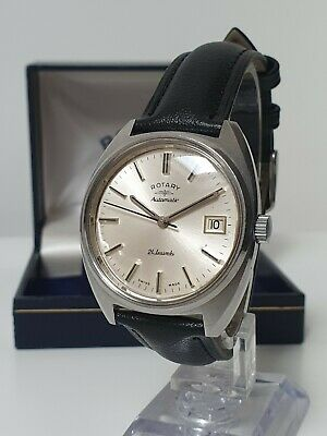 £35 • Buy Vintage ROTARY 21J Automatic Mens Watch AS2063 - Excellent Condition - Boxed