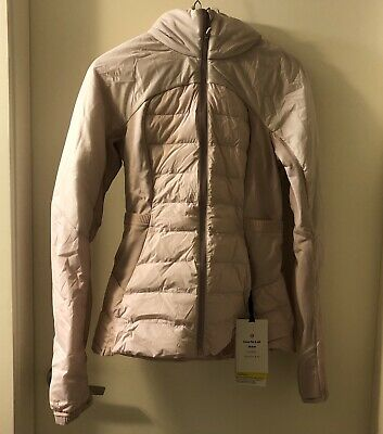 $ CDN129.99 • Buy Lululemon Down For It All Jacket NWT Porcelain Pink Size 6