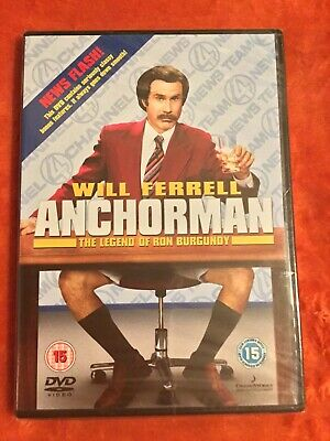 £2.33 • Buy Anchorman The Legend Of Ron Burgundy DVD (New And Sealed)