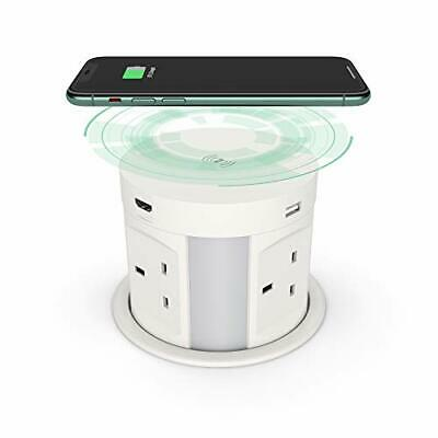 £146.99 • Buy Automatic Pop Up Socket For Kitchen Worktops, Power Socket With Wireless