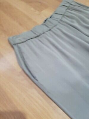 £7.99 • Buy French Connection Grey Trousers Size UK 12 US 8 Elastic Waist Pockets Casual VGC