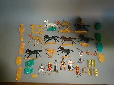 £18 • Buy Timpo Toy Soldiers Roman , Knights , ARAB , Horse - Mix