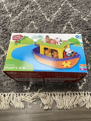 £5 • Buy Chad Valley Musical Noah's Ark In Box Baby Toddler Animal Toy