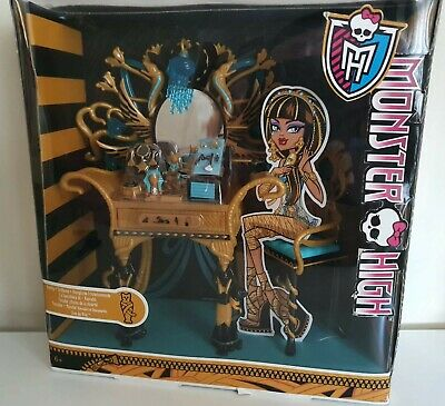 £20 • Buy Monster High Cleo De Nile Vanity Table! Boxed! Complete!