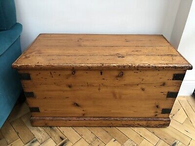 £40 • Buy Vintage Wooden Trunk/Chest