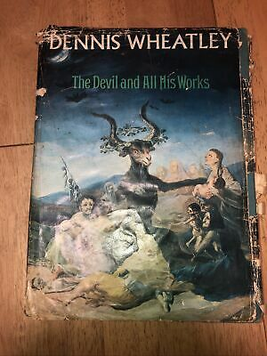£6.66 • Buy Dennis Wheatley's The DEVIL And All His Works Book Occult Satanism Witches B2