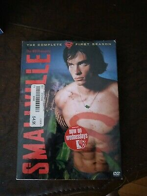 £8.48 • Buy Smallville - First Season 1 One (DVD, 6-Disc Set) - 2003 - BRAND NEW SEALED