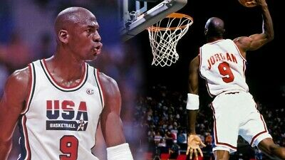£150 • Buy Genuine Nike Michael Jordan USA Jersey XL New With Tags The Dream Team.