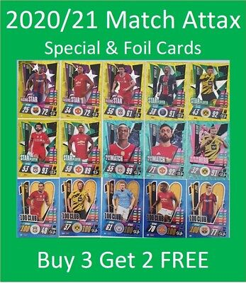 AU2.99 • Buy 2020/21 Match Attax UEFA Cards - Special, Foil & Update Cards - Buy 3 Get 2 FREE