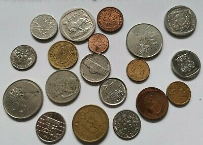 £0.99 • Buy Collection Of Foreign Coins Different Countries And Dates