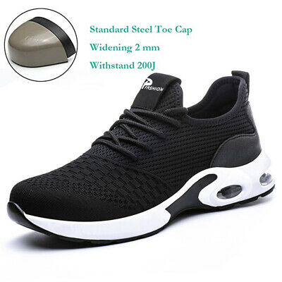 £17.98 • Buy UK Lightweight Safety Shoes For Men Chef Work Shoes Steel Toe Cap Trainers Women