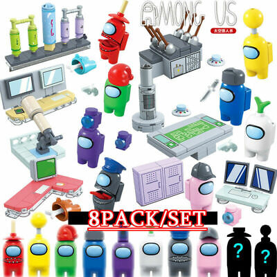 £11.97 • Buy 8Pcs/Set Among US Game Action Figures Fit Blocks Set Kid PVC Collection Toy Gift