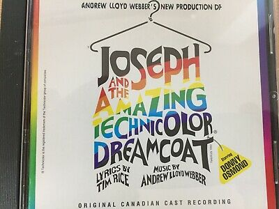£4.36 • Buy JOSEPH & THE AMAZING TECHNICOLOR DREAMCOAT - Canadian Cast CD AS NEW!