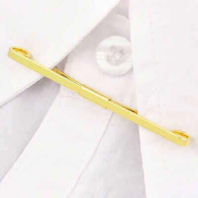 £5.49 • Buy Collar Pin Tie Bar Mens Formal Jewellery Wedding Suit Fashion Accessory Clips