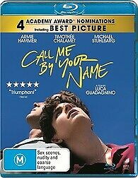 AU13.95 • Buy Call Me By Your Name Blu-ray New & Sealed