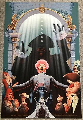 £104.99 • Buy Amadeus Screen Print By Kevin Tong - Sold Out - Not Mondo