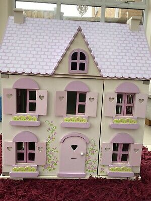 £10 • Buy Early Learning Centre Dolls House With Furniture And People Rare- Discontinued