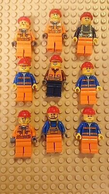 £6.99 • Buy Lego City Construction Worker Minifigure And Accessories Bundle Loads Of Tools!!