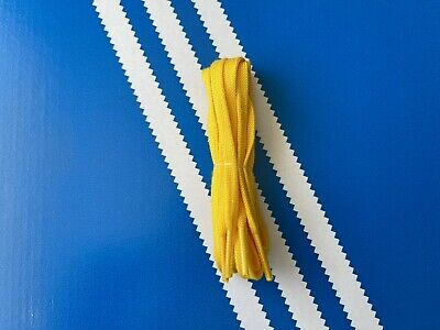 £9.99 • Buy Adidas Original Flat Yellow Laces-1 Pair-100% Authentic-Width 6.5mm Length 120cm