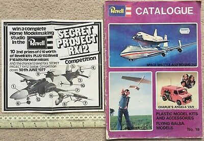 £4.40 • Buy Revell Catalogue No 16, 1977 (from Barretts Of Canterbury) & Competition Flyer