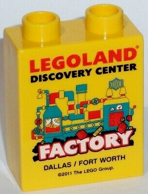 £11.14 • Buy LEGO LEGOLAND Sammelstein FACTORY DALLAS FORT WORTH DISCOVERY CENTER