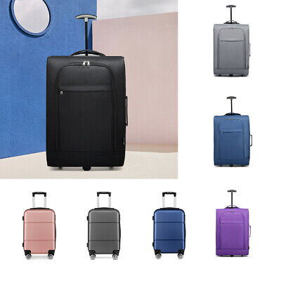 £21.99 • Buy 20'' Travel Luggage Cabin Check In Hold 4 Wheel Trolley Hand Suitcase