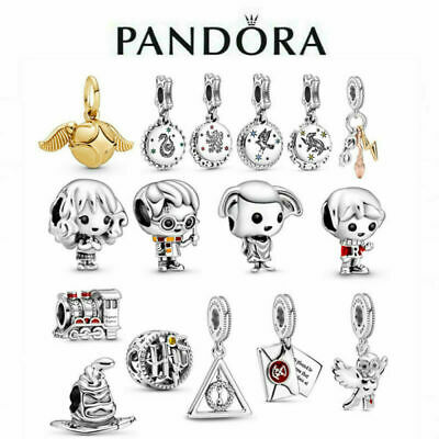 £5.92 • Buy New Genuine Pandora Harry Potter Charm S925 ALE Sterling Silver & With Gift Bag