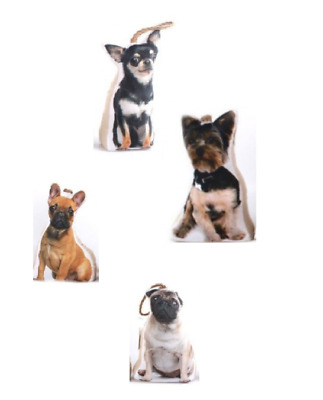 £10.29 • Buy Dog Door Stop Stopper Fabric Filled Heavy Weighted Puppy Animal Novelty Wedge