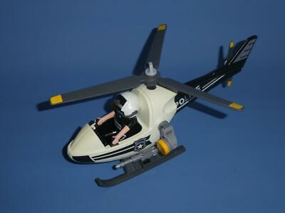 £3.99 • Buy Playmobil Police Micro Copter  / Helicopter  Vehicle & Figure 5916 City Action