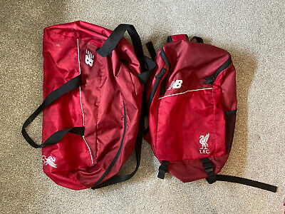 £12 • Buy Liverpool FC Backpack And Duffle Bag - Used