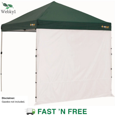 AU60 • Buy 1 X Gazebo Solid Side Wall OZtrail 2.4m, Outdoor Camping Tent Sidewall Only