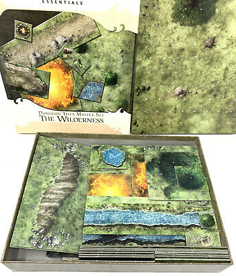 AU52.82 • Buy Dungeons And Dragons Essentials - Dungeon Tiles Master Set - The Wilderness D&D