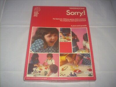 £19.99 • Buy Sorry! (1973 Edition) Vintage Board Game By Waddingtons