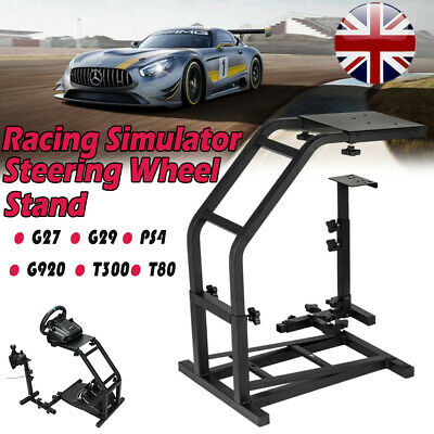 £51.98 • Buy Racing Simulator Steering Wheel Black Stand Gaming For G27 G29 PS4 G920 T300RS