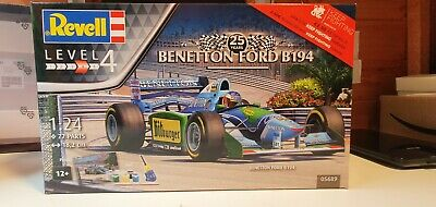 £32 • Buy Revell 05689 Benetton Ford B194 F1 Car 25 Years Model Kit Scale 1/24 W/ Paints