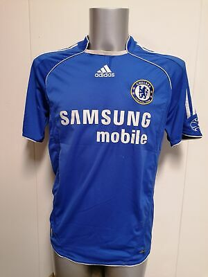 £22 • Buy Vintage Chelsea 2006 2007 2008 Home Shirt Adidas Jersey Size M