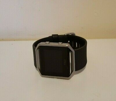 AU57.50 • Buy Fitbit Blaze Smart Watch Fitness Activity Tracker Black Band Large (NO CHARGER)