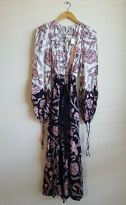 AU199.50 • Buy Alice McCall My Everything Floral Print Jumpsuit Playsuit Size AU 6 US 2 - Rose