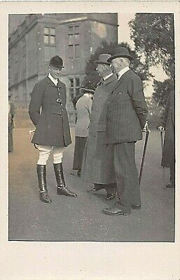 £4.90 • Buy Postcard Social History - Hunting - Master Of The Hounds - Location Unknown  Rp