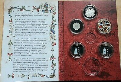 £10 • Buy St George And The Dragon Part Coin Set