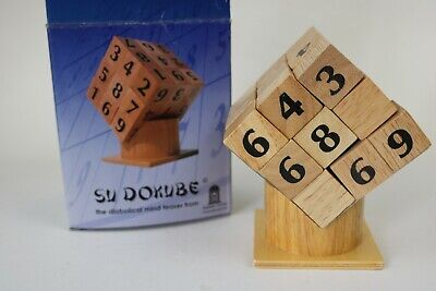 £3 • Buy Sudoku Cube Puzzle Game Brain Teaser Adults Toy ~ Su Dokube
