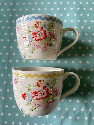 £4 • Buy Mugs 2 Cath Kidston, Not Large Idea For Coffee, Clean And Undamaged