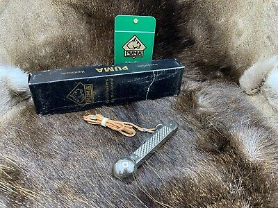 AU340.75 • Buy Puma  Fishing Knife And Leather Cord - Mint In Factory Puma Box
