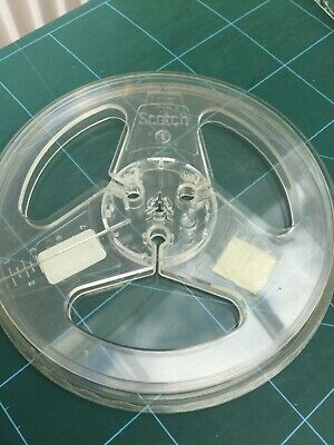 £9.97 • Buy 7  Empty Reel To Reel Tape Recorder Take Up Scotch Spool  With EMI Emitape Case.