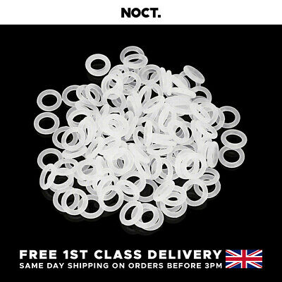 £3.29 • Buy Mechanical Keyboard O-Rings Noise Dampening For Cherry MX Style Keycaps - Clear