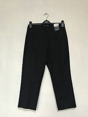 £12.95 • Buy New M&S Collection Ladies  Slim Cropped Trousers Size 10 L22